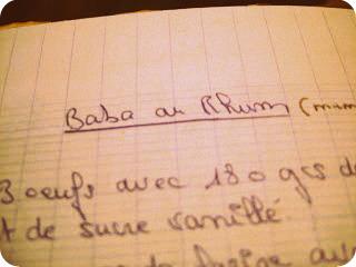 Le Baba Au Rhum De Ma Maman Une Cuilleree Pour Papa