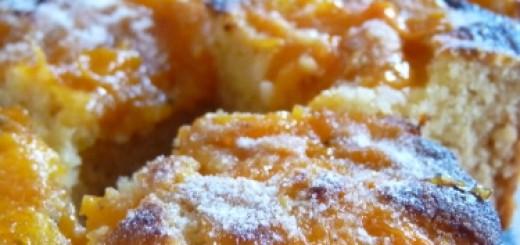 gâteau abricots, amandes et miel