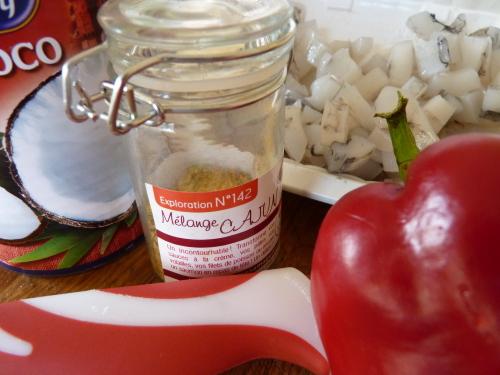 Ingrédients pour poivrons farcis