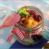 salade d'encornets aux fruits et salicorne