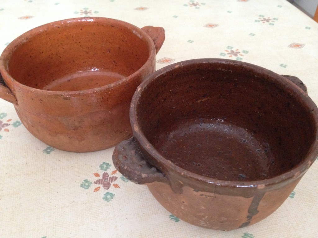 Moule à fion traditionnel en terre cuite