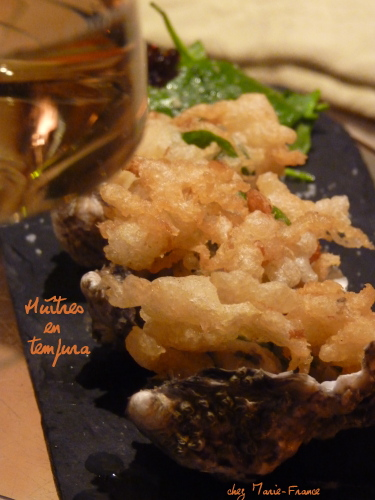 beignets d'huîtres