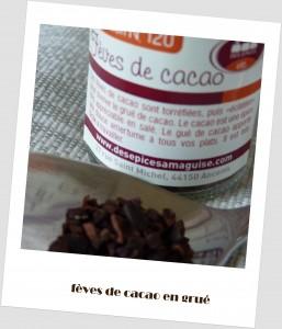 Grué de cacao Epices à ma guise