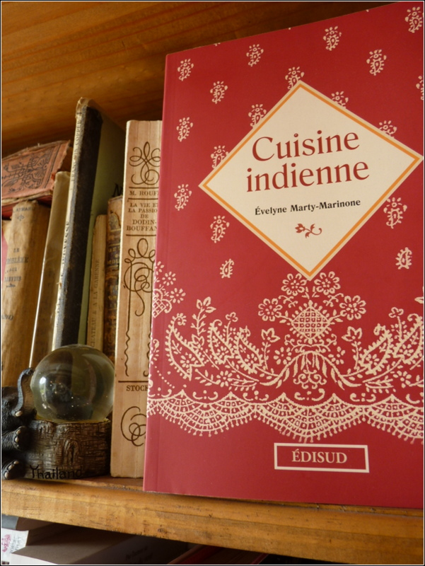 Cuisine indienne d'Evelyne Marti-Marinone
