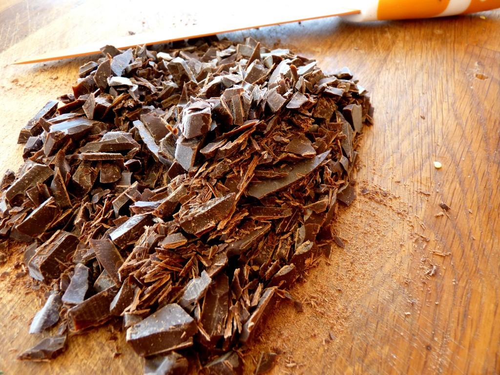 chocolat râpé