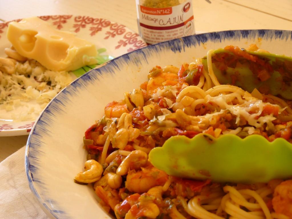Spaghetti sauce cajun