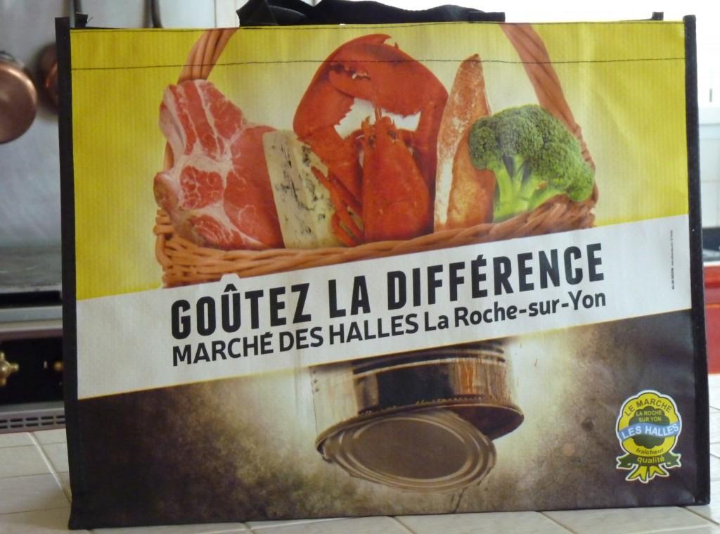 Cabas Halles de la Roche-sur-Yon