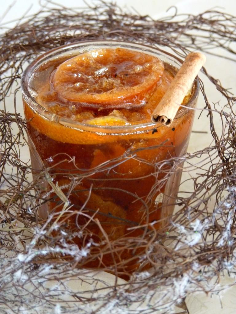 clémentines confites aux épices de Noël