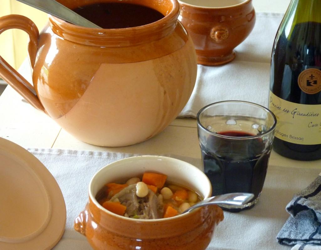 Soupe de queue de boeuf mogette de Vendée