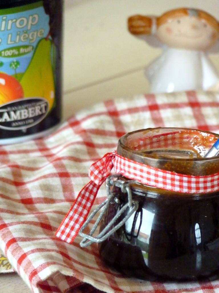 sauce sirop d'érable pour crêpes