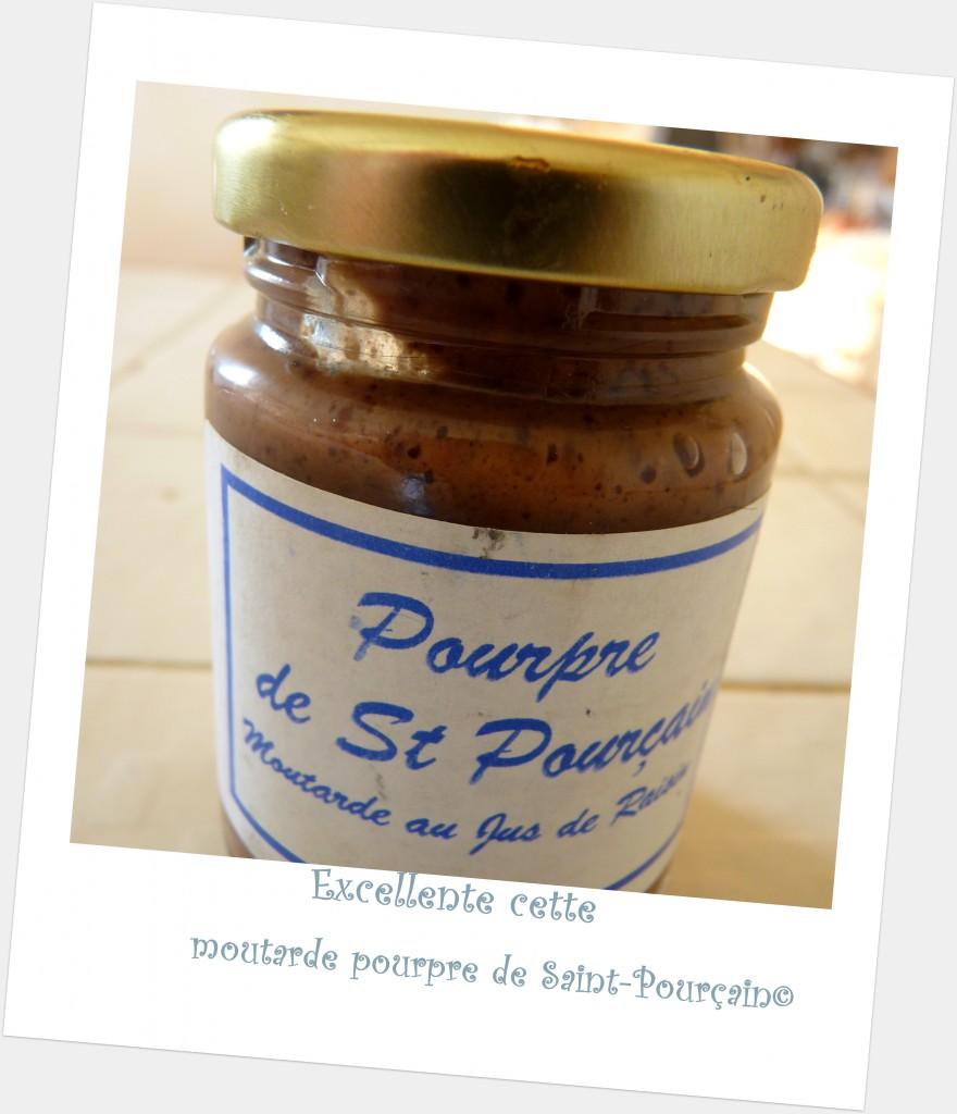 moutarde pourpre de Saint-Pourçain