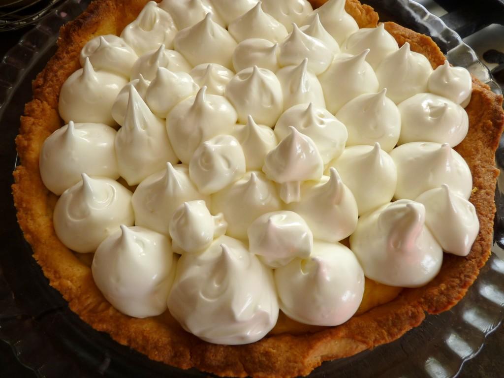 meringue tarte au citron