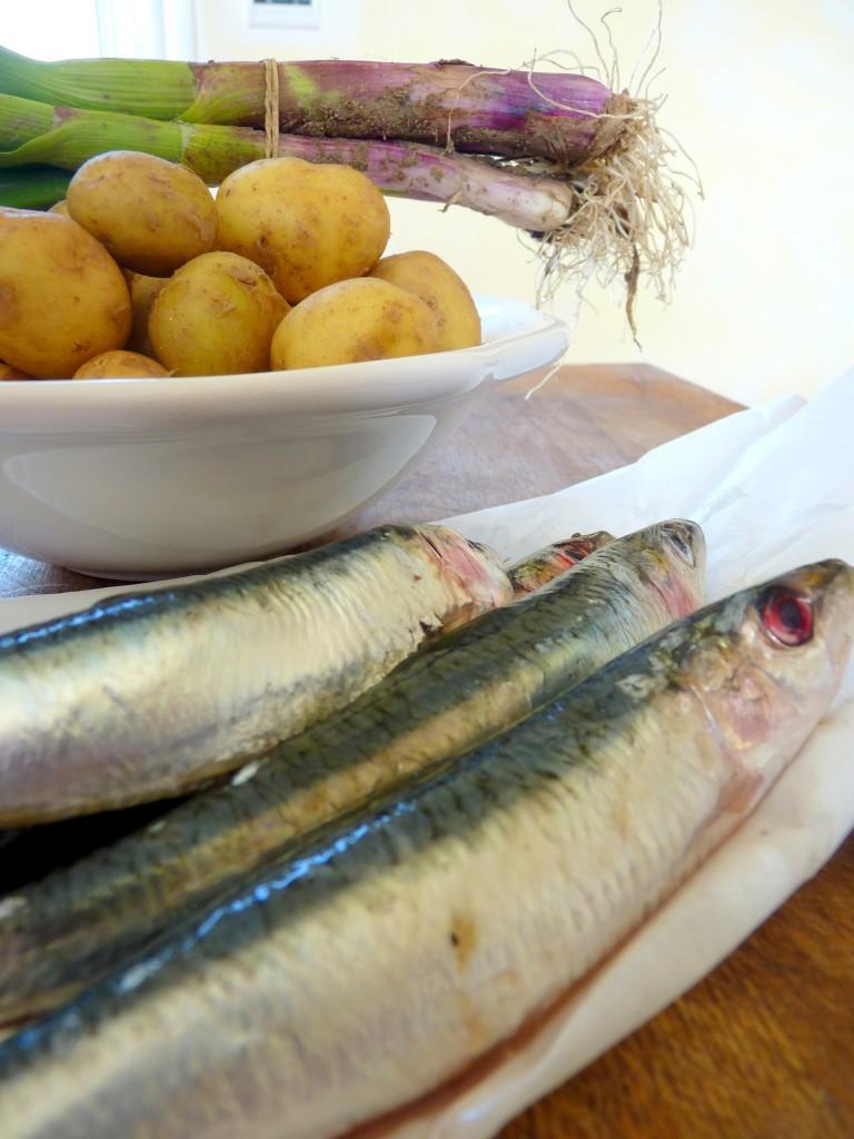 sardines et pommes de terre