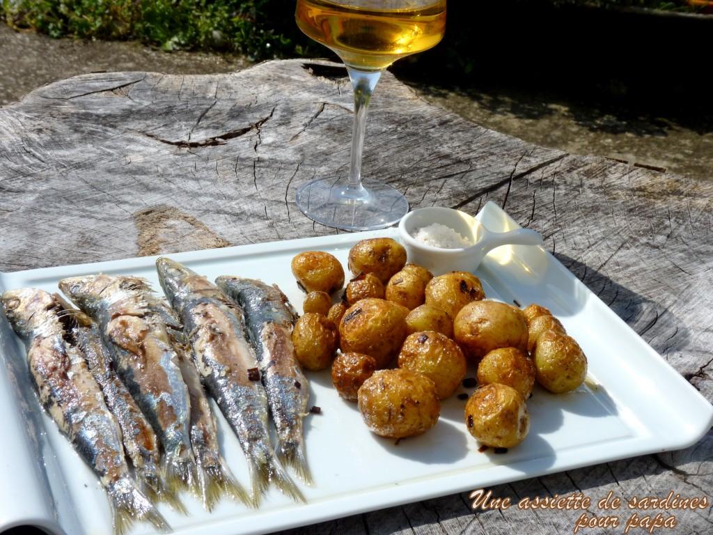 sardines de Croix-de-Vie et pommes de terre de Noirmoutier