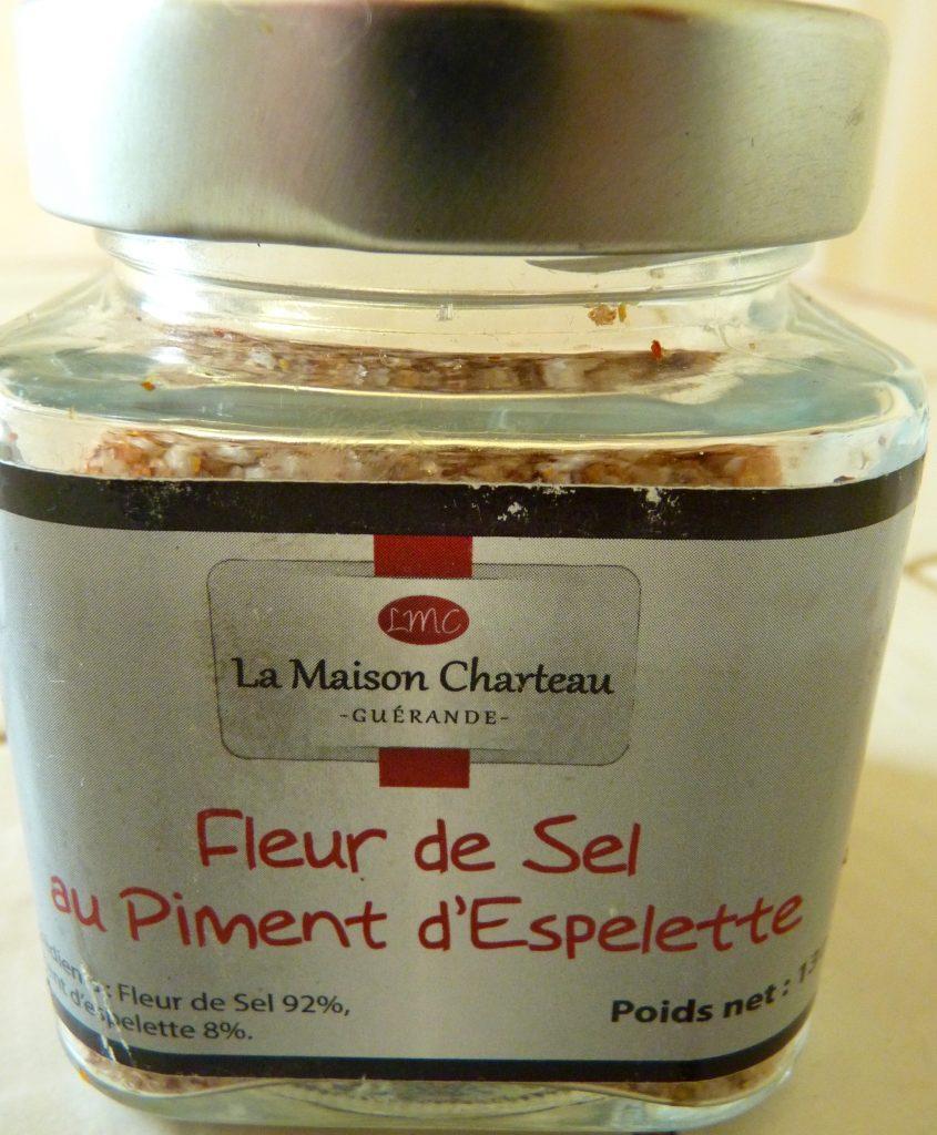 Fleur de sel au piment d'Espelette Lionel Charteau