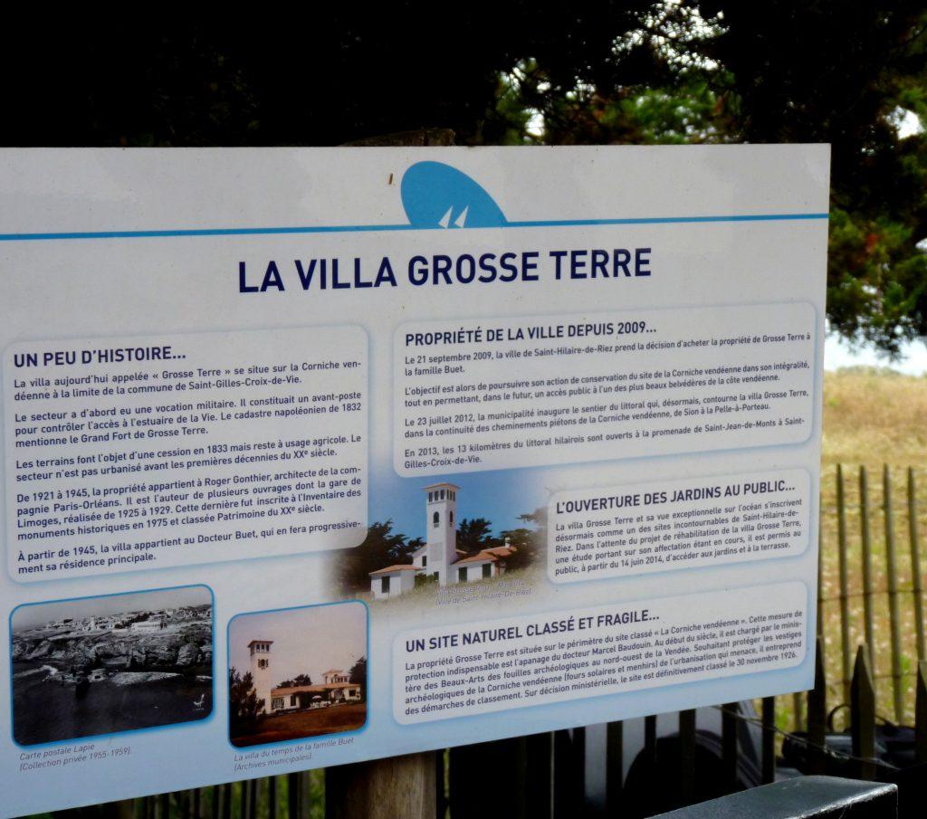 Villa grosse terre saint hilaire de riez