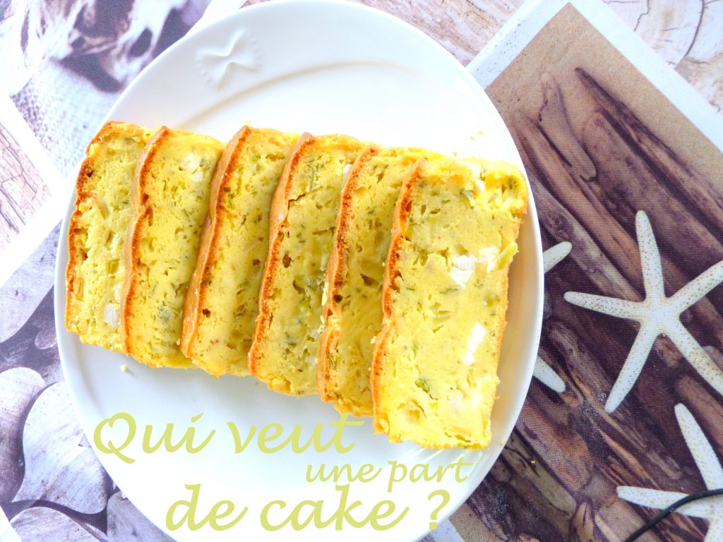Cake courgettes feta au citron