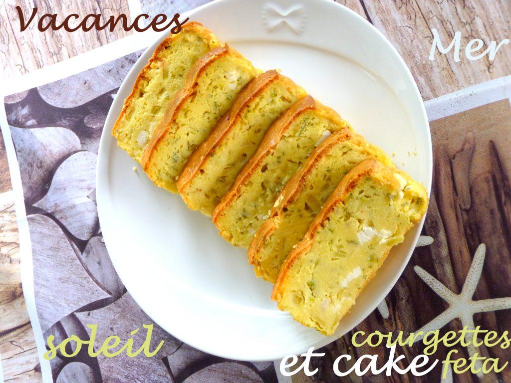 Cake courgettes et feta
