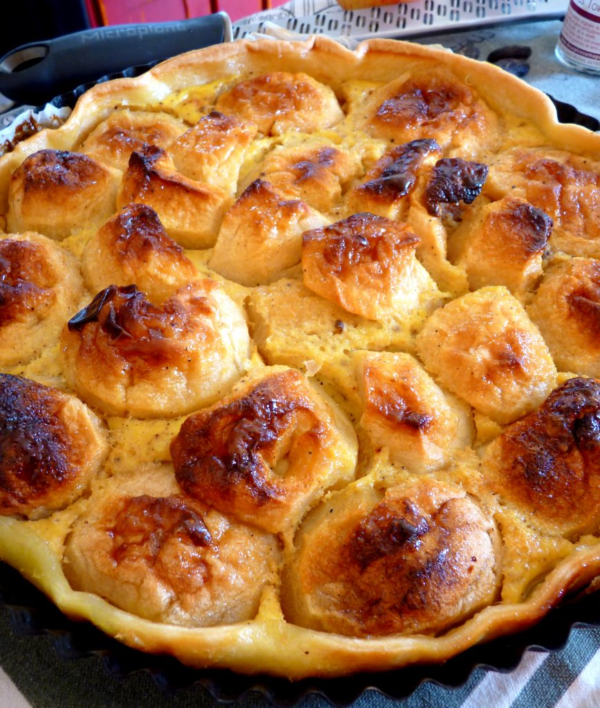 tarte aux pommes fèves tonka