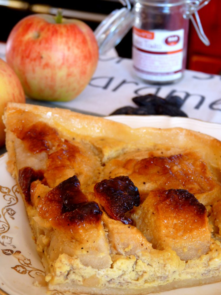 tarte aux pommes fève tonka