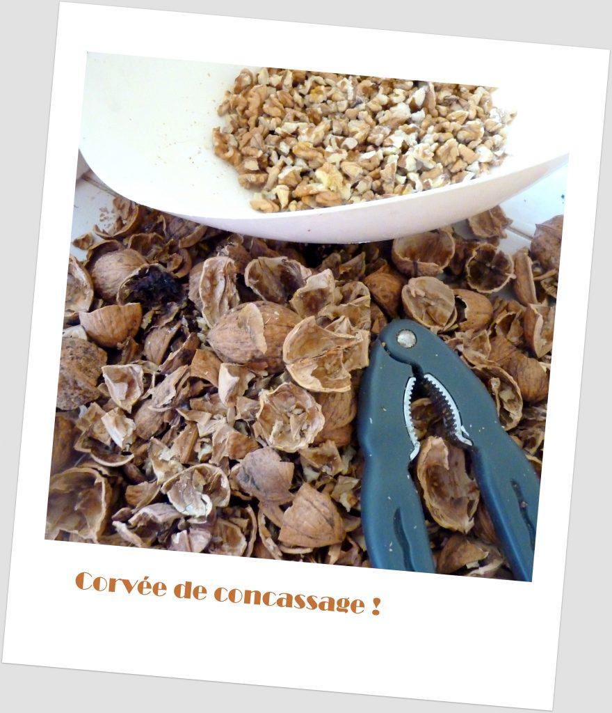 concassage de noix