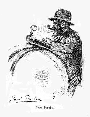 illustration Raoul Ponchon par redon