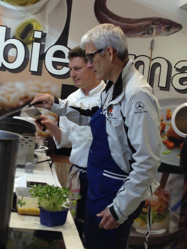 Vincent Riou PRB Vendée globe culinaire