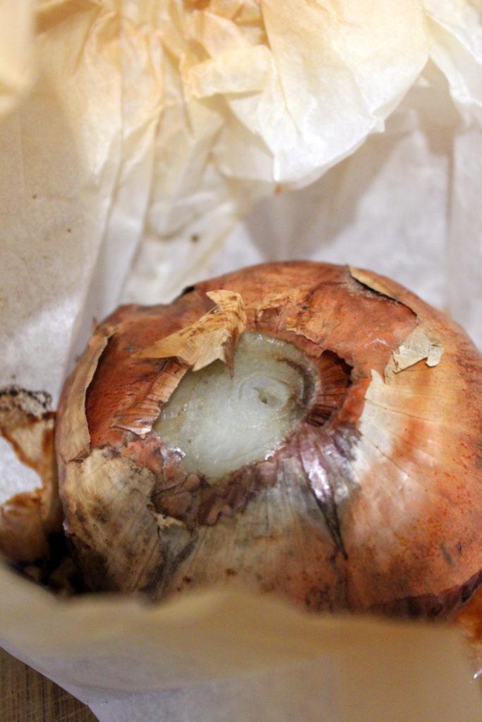 oignon rose de Roscoff au navet du Pardailhan