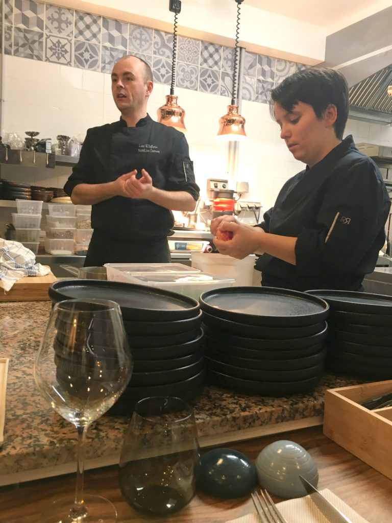 nathan cretney Restaurant Les Reflets La Roche-sur-Yon
