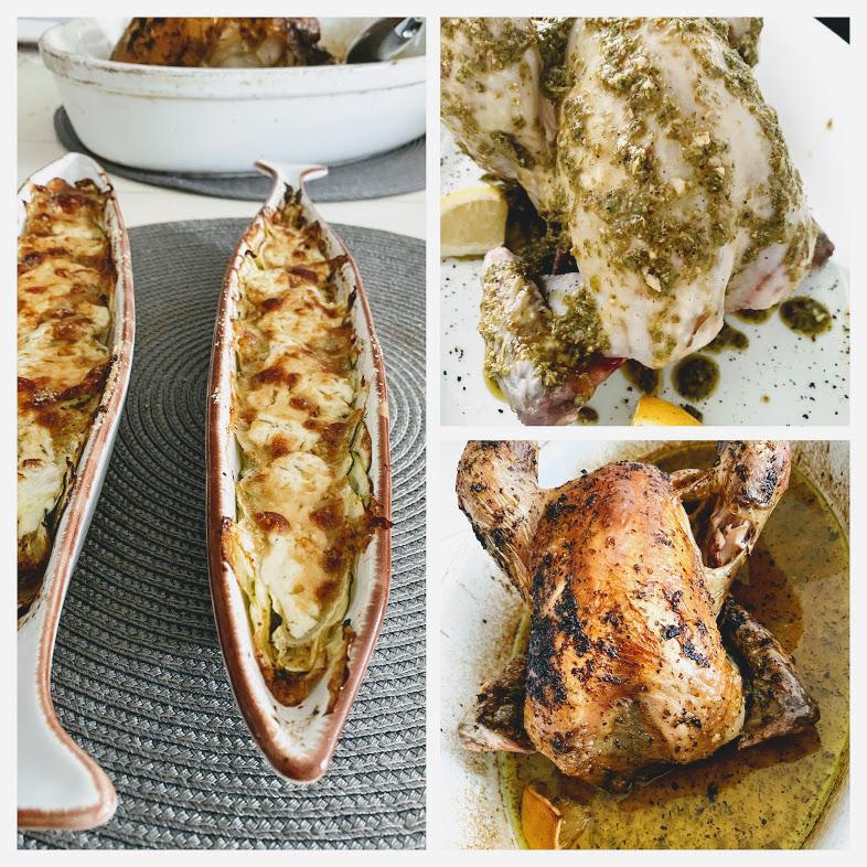 poulet au basilic