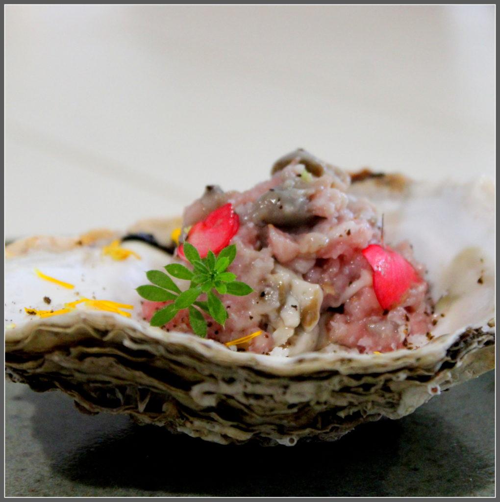 tarte de veau huîtres combava